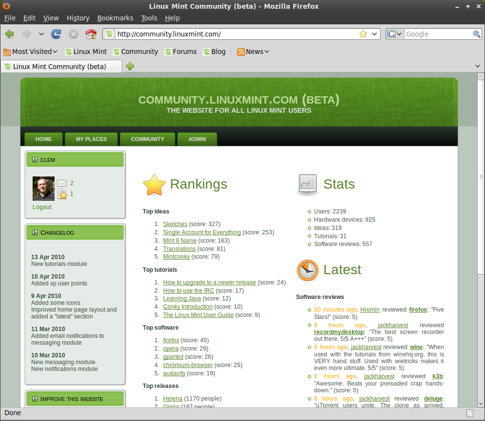 What's new in Linux Mint 9 Isadora - Linux Mint
