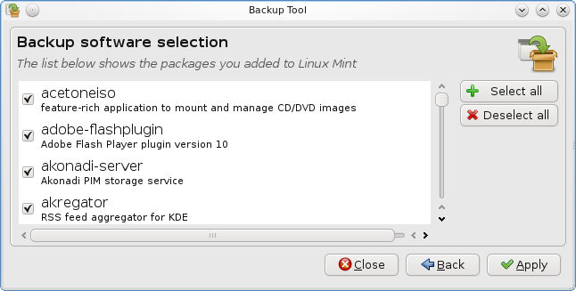 What's new in Linux Mint 9 KDE - Linux Mint