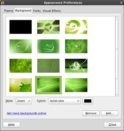 Linux Mint 9 desktops