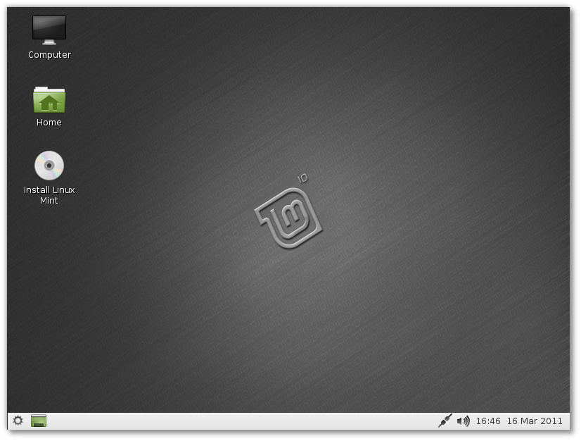 Linuxmint lxde 10