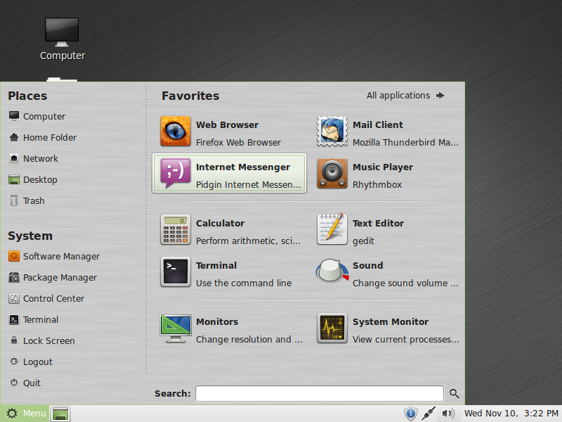 todas las versiones de linux mint (descargables)