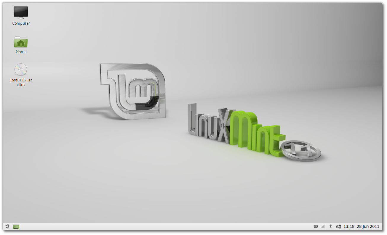 ����� Linux Mint 11 LXDE