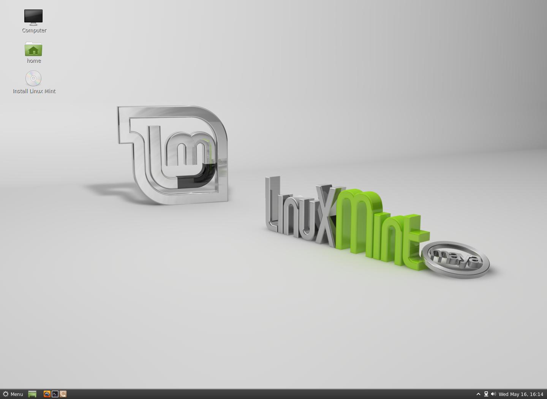 Linux Mint (с Cinnamon)