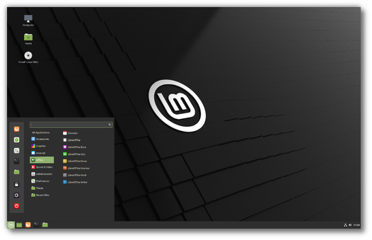 Linux Mint Ulyssa 1
